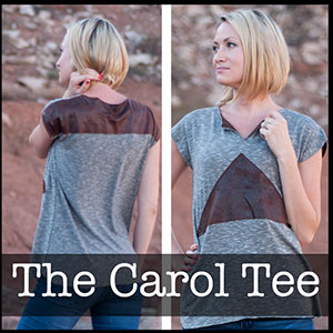 Shwin Designs Carol Tee Sewing Pattern