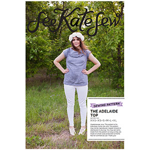 See Kate Sew Adelaide Top Sewing Pattern