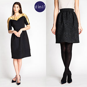 Named Clothing Leotie Midi Dress & Skirt Sewing Pattern